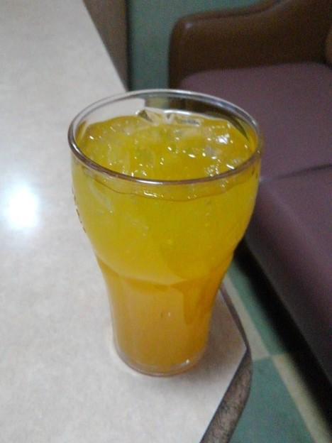 オレンジジュース(12月12日)