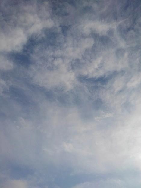 芸術的な雲の空(12月10日)