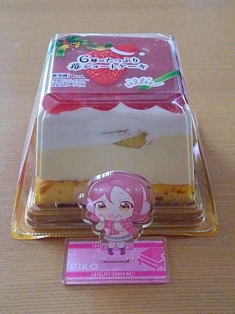 四角いクリスマスケーキ