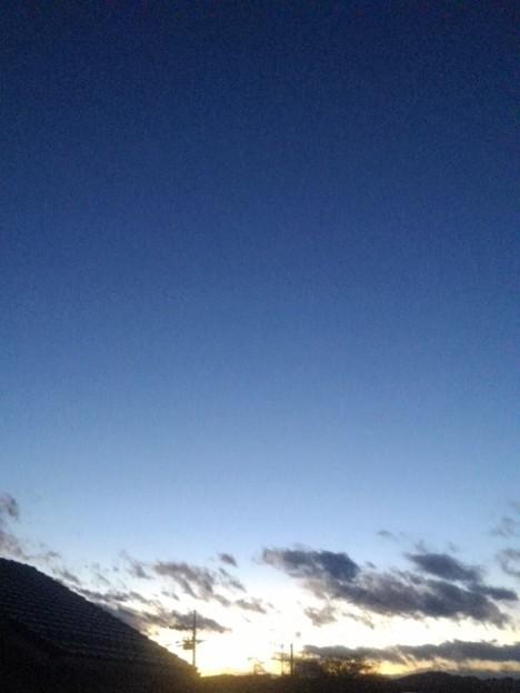 夕日のグラデーション(12月20日)