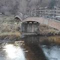 川崎城跡公園の橋(12月28日)