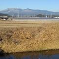 Photos: 川の奥の山(12月24日)