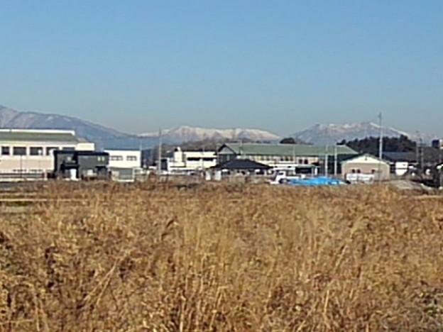 街の奥の山(12月24日)