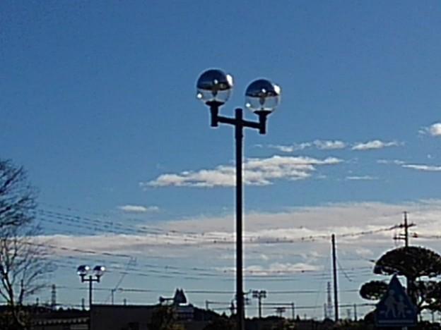 ダブル街灯(12月25日)