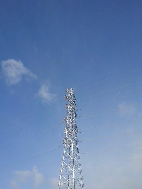 鉄塔と空(12月26日)