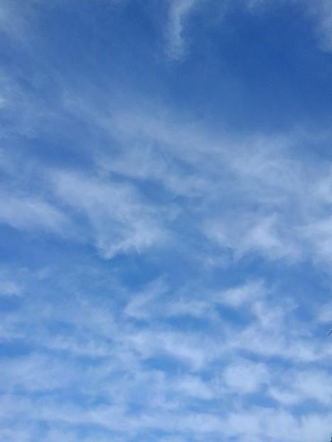 波打ち際のような空(1月7日)