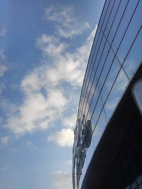 空とガラス(12月27日)