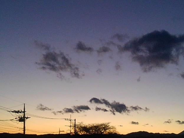 Photos: 夕日(1月10日)
