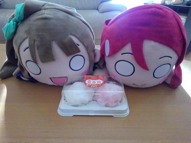 雪苺娘ケーキ(1月26日)