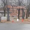 Photos: 那須野が原公園のアスレチックの入り口(1月16日)