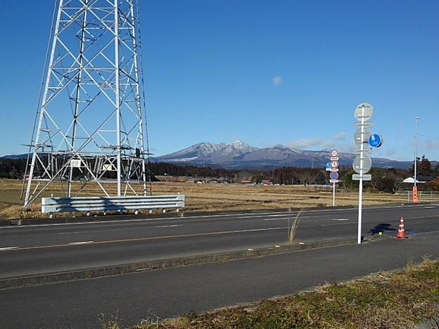山のある景色(1月20日)