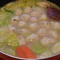 鶏団子鍋(1月28日)