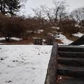 長峰公園の丘のベンチメインの景色(1月24日) (2)