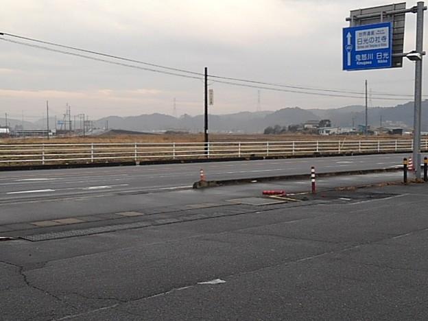 コンビニ駐車場からの景色(1月27日)