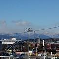屋上駐車場からの街並み(1月31日)