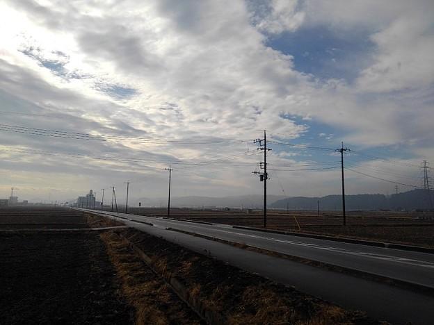 田園の道路(2月2日)