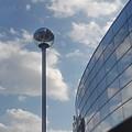 街灯と映り込み(2月7日)