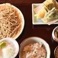 写真: お蕎麦の定食