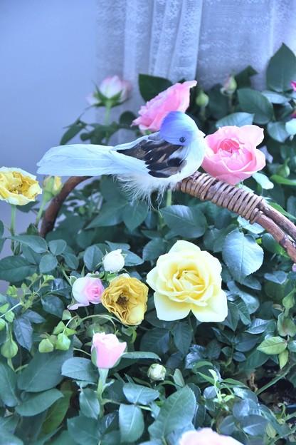 横浜市イギリス館ー花と器のハーモニーー