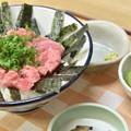 Photos: (ぶれた)ネギトロ丼
