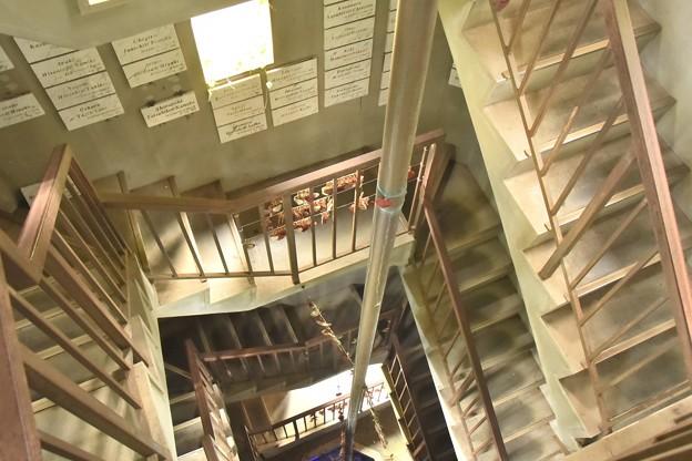 ロックハート城 スプリングベル&恋人の泉の螺旋階段