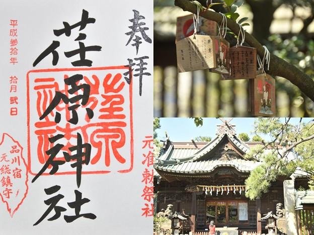 Photos: 荏原神社の御朱印