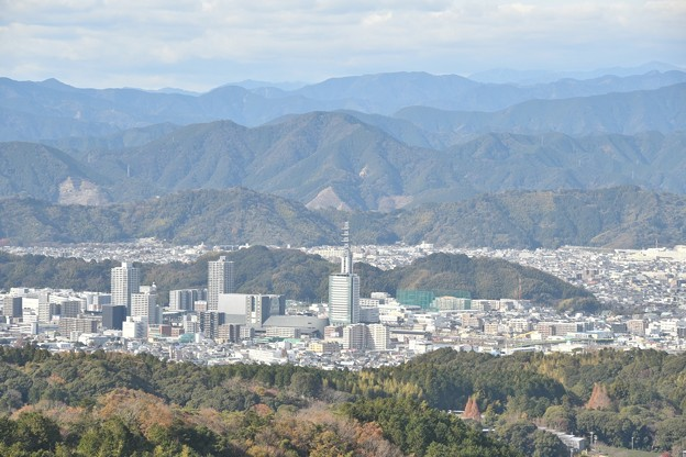 日本平夢テラス 街並み