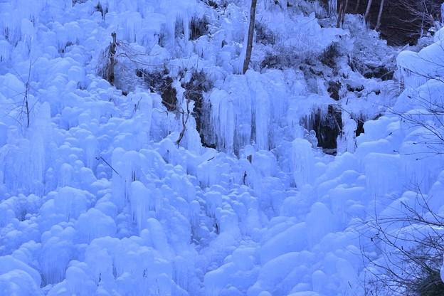 あしがくぼの氷柱