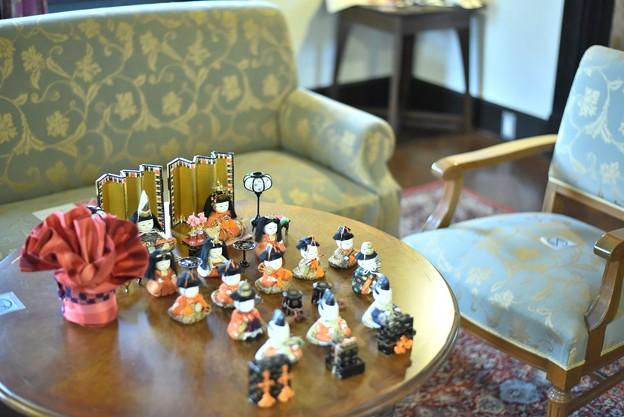 外交官の家ー雛飾りー