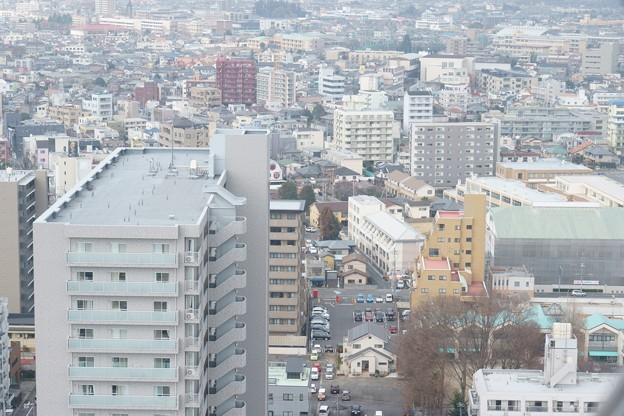 水戸芸術館からの光景