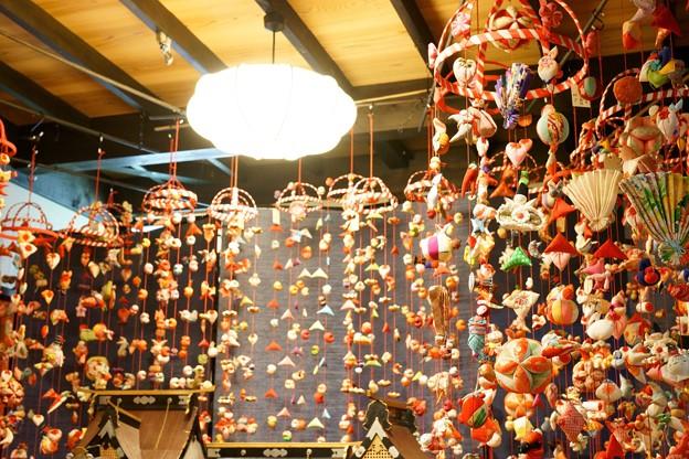 吊るし雛 文化公園 雛の館
