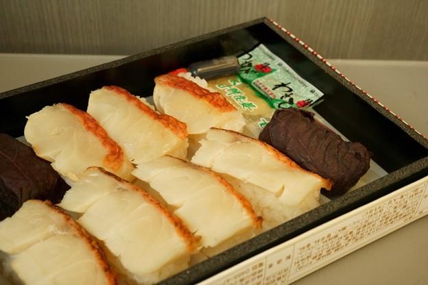 金目鯛の炙り寿司