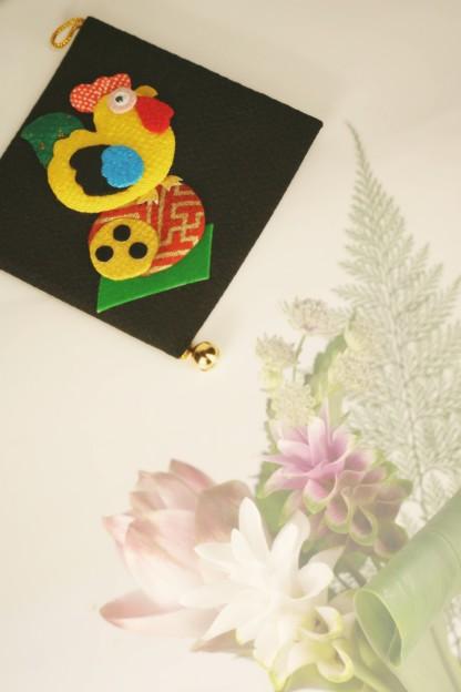 ニワトリの飾り物(お土産)