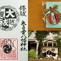 太子堂八幡神社の御朱印(夏越大祓)