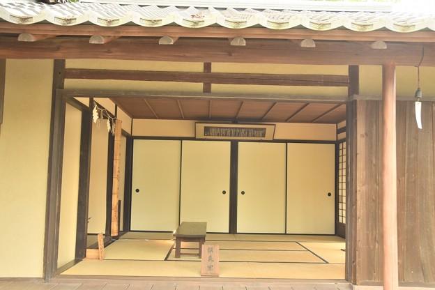 松陰神社の松下村塾(模造)