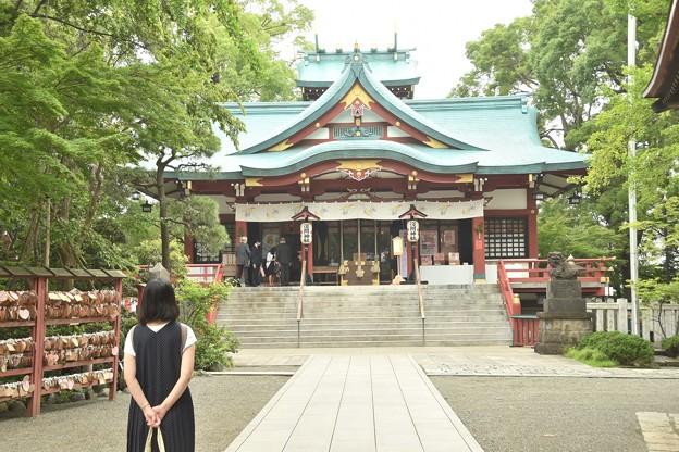 多摩川浅間神社(令和元年7月)