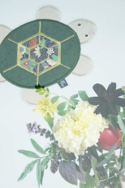 亀のコースター(お土産)