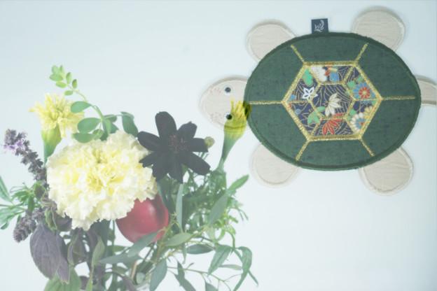 亀のコースター(水上のお土産)