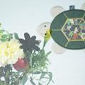 Photos: 亀のコースター(水上のお土産)