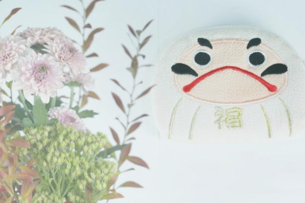 達磨さんのポーチ(水上のお土産)