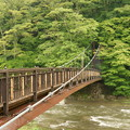 Photos: 紅の吊り橋