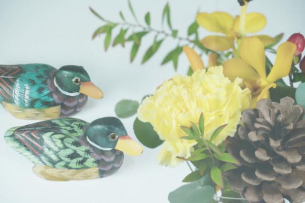 Photos: 鴨の置物