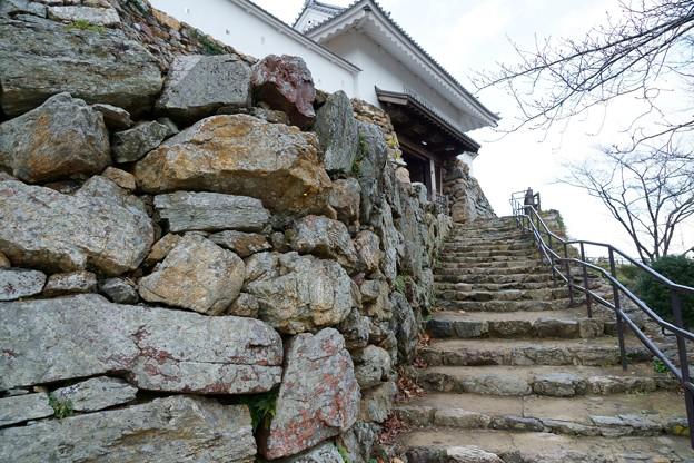 浜松城 石垣