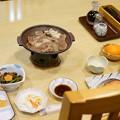 Photos: 宿のディナー