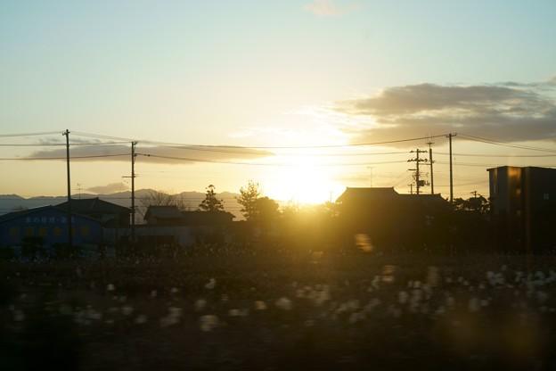 朝日 車窓より