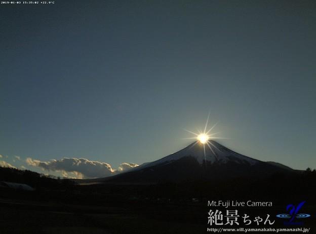 """Photos: 特報 """"ダイヤモンド富士"""""""