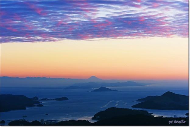 Twilight Mt. Fuji