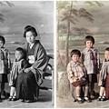 モノクロ写真のカラー化