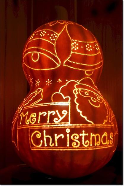 Photos: 瓢箪のクリスマスツリー
