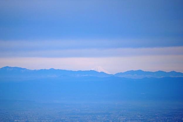 御在所からの富士山